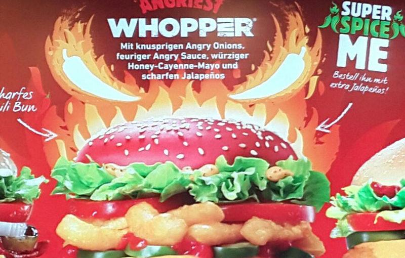 Boah! Der Angry Whopper war wirklich SCHARF!